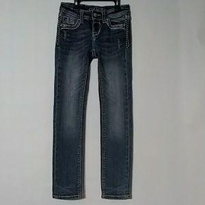 Grace in LA girls jeans SZ 8